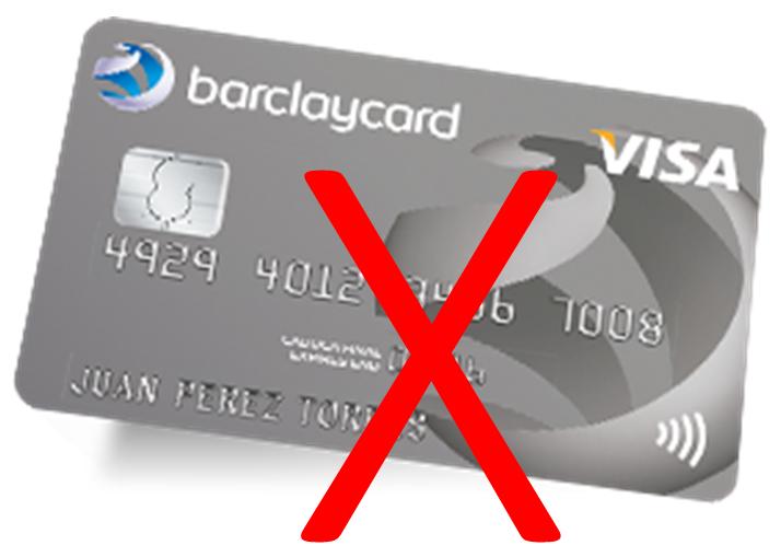 NoBarclayCard